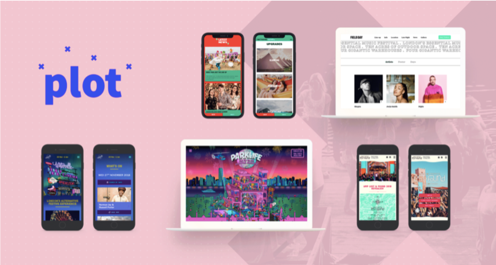 Plot is the One Stop Festival Website Solution Changing the Game ...