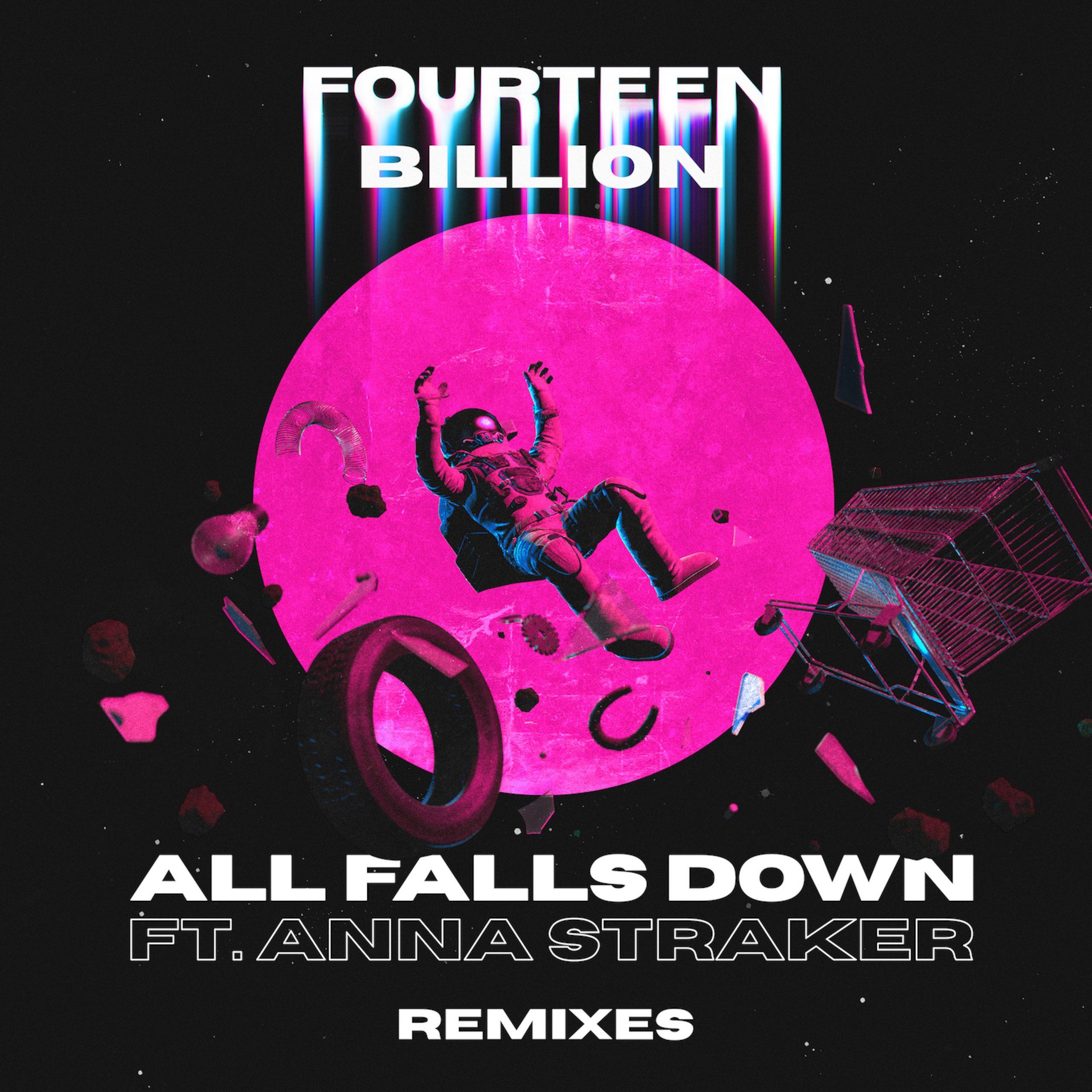 Kokiri, EMBERS and Dani Calvo remix fourteenbillion. and Anna Straker collab  'All Falls Down' – Music is 4 Lovers